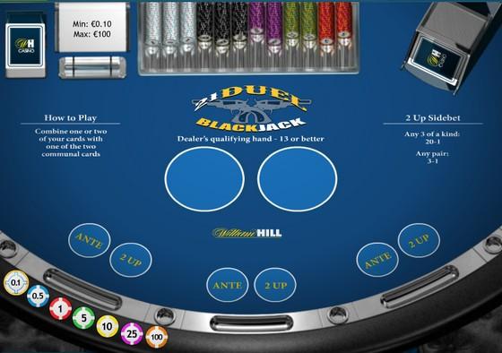 Playtech 21 Duel Blackjack