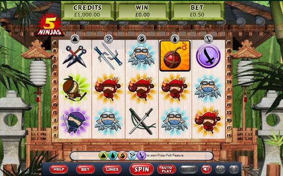 5 Ninjas Slot