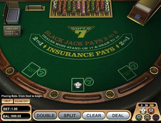 7 Reels Review Super 7 Blackjack