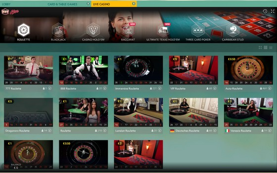 777 Casino Review Live Games