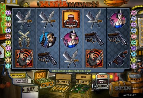 777 Casino Review Mafia Madness