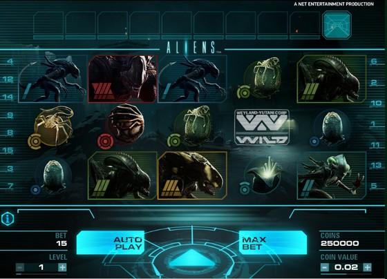Aliens – Sci-fi Slot