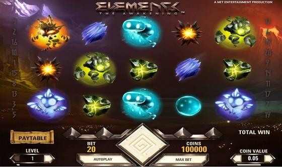 Elements – Sci-fi Slot