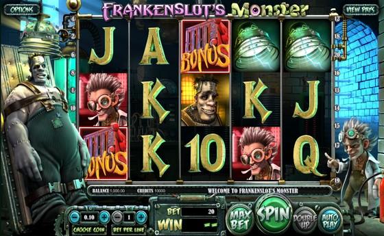 Frankenslot's Monster - Sci-fi Slot