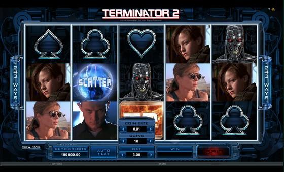 Terminator 2 – Sci-fi Slot