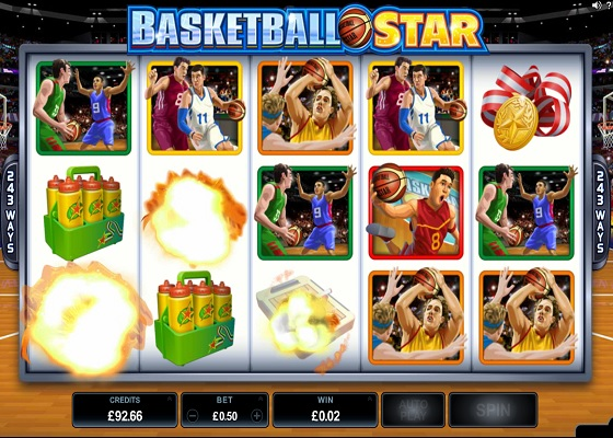 Basketball Star Rolling Reels