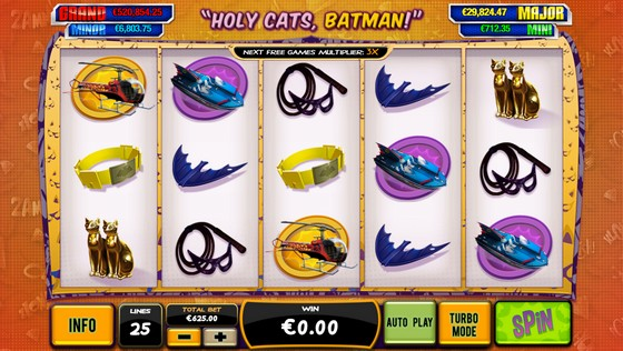Batman and Catwoman Cash - High Stakes Slot