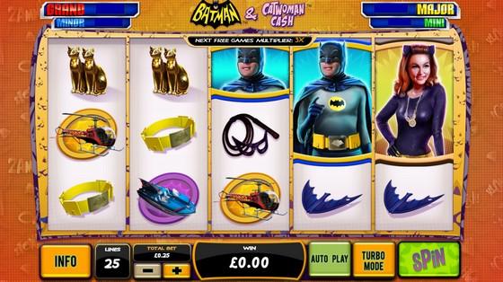 Batman and Catwoman Cash – Progressive Jackpot
