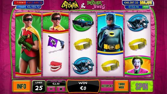 Batman and the Joker Jewels Slot