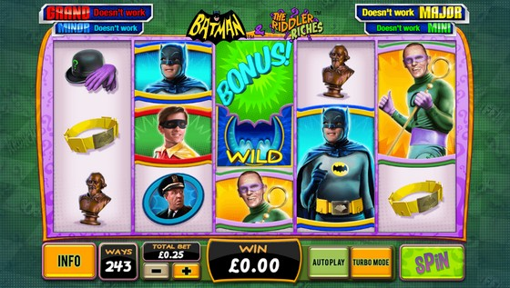 Batman and the Riddler Riches by Playtech