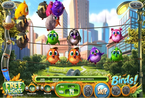 Birds Tumbling Reels Game
