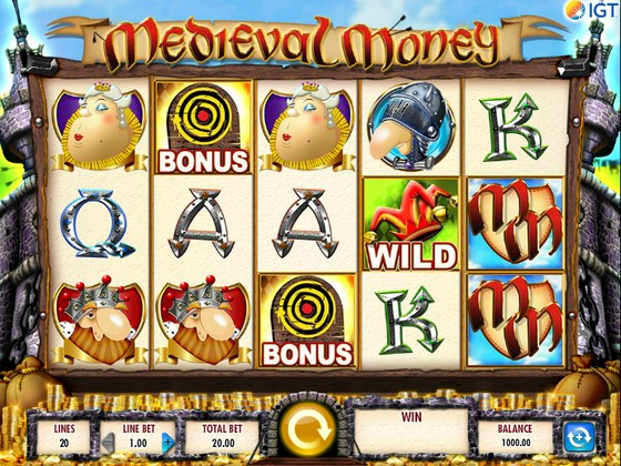Medieval Money Slot
