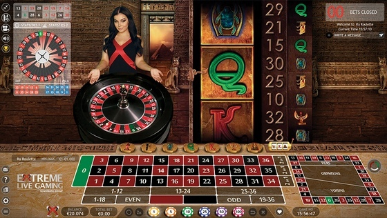 Live Book of Ra Roulette