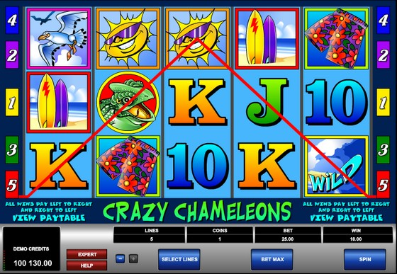Crazy Chameleon Slot