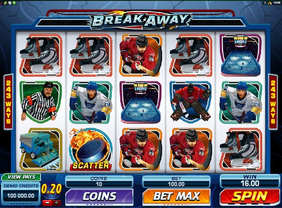 Break Away – Sports Themed Slot