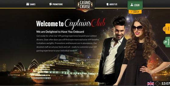 Captain's Club at Casino Cruise