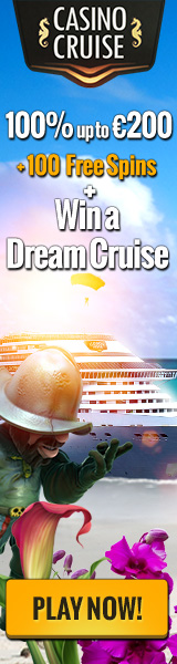 CasinoCruise.com Cruise & Welcome bonus 100% up to 200 + 100 FS ENG EUR