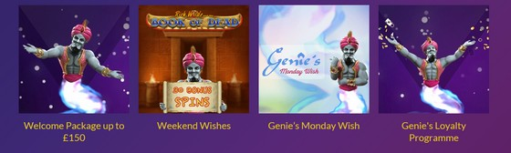 Casino Wishes promotions