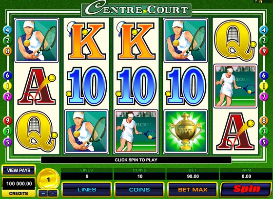 Center Court – Sports Themed Slot