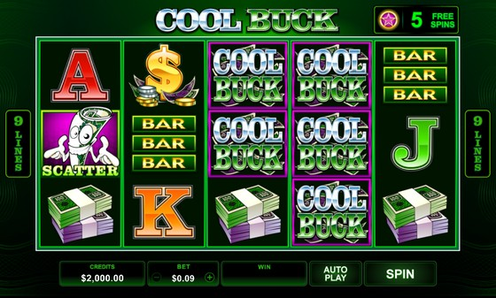 Cool Buck- Low Stakes Slot