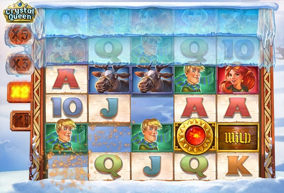 Crystal Queen Tumbling Reel Slot Game