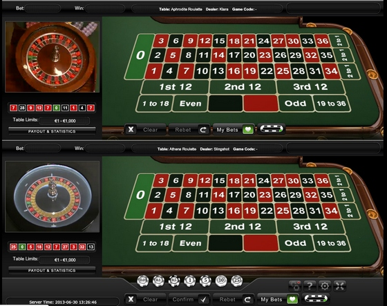 Live Dual Roulette/