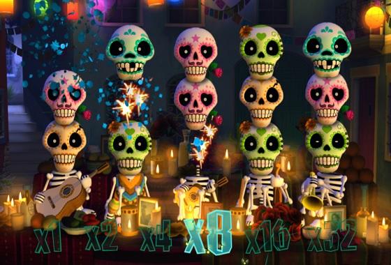 Esqueleto Explosivo - Rizk Online Casino