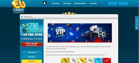 EU Casino VIP Lounge