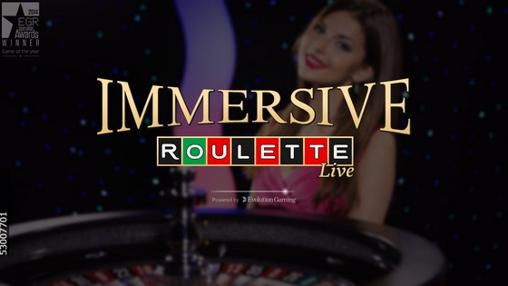 Evolution Immersive Roulette
