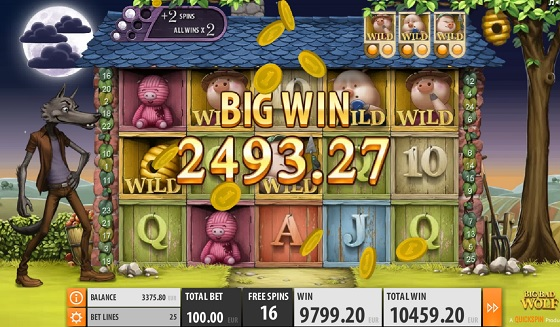 Big Bad Wolf - Fairytale Slot