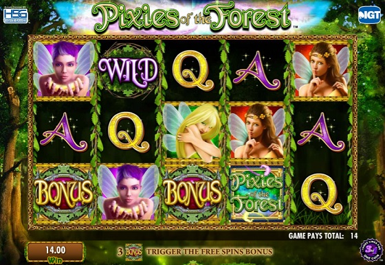 Pixies Of The Forest - Fairytale Slot