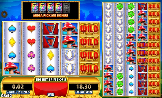 Rainbow Riches Reels Of Gold - Fairytale Slot