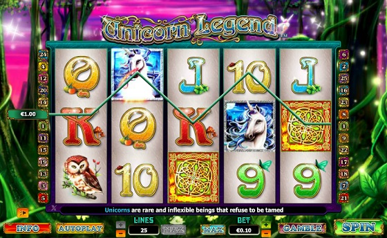 Unicorn Legend - Fairytale Slot