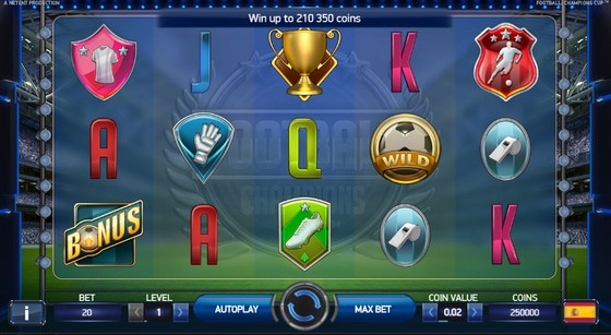Football Champion's Cup – Sports Themed Slot