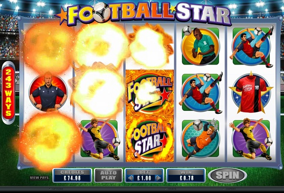 Tumbling Football Star Reels