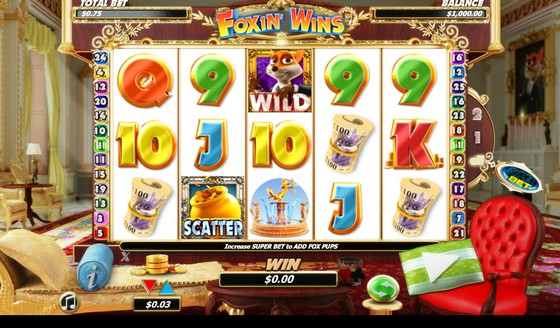 Foxin Wins Slot from NextGen