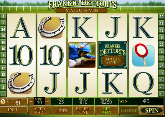 Frankie Dettori's Magic 7 – Sports Themed Slot