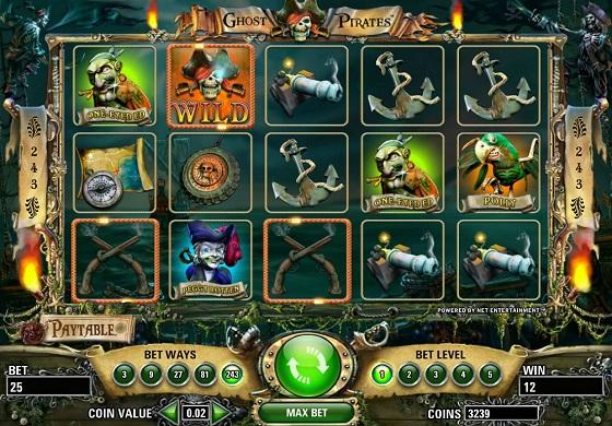 Ghost Pirates at EU Casino