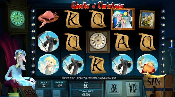 Ghosts of Christmas – High Stakes Slot