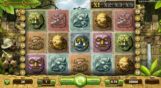 Gonzo's Quest Slot from NetEnt
