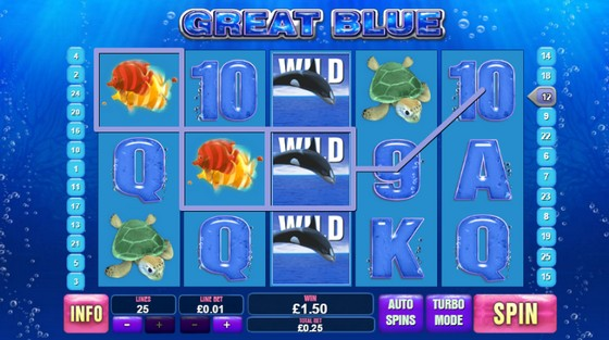 The Great Blue Slot