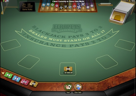 High Limit European Gold Blackjack