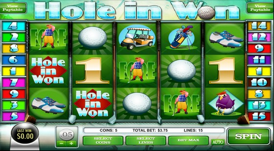 Hole in Won - Sports Themed Slot