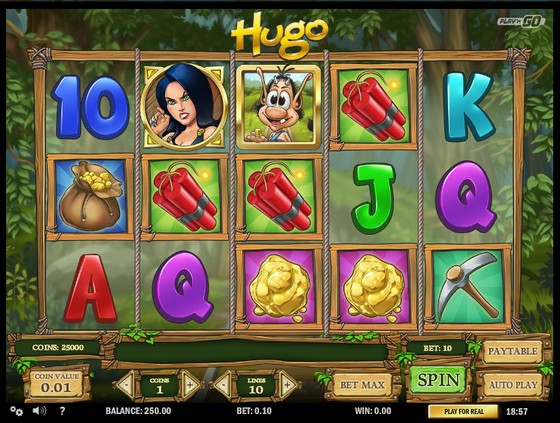 Hugo – Low Stakes Slot