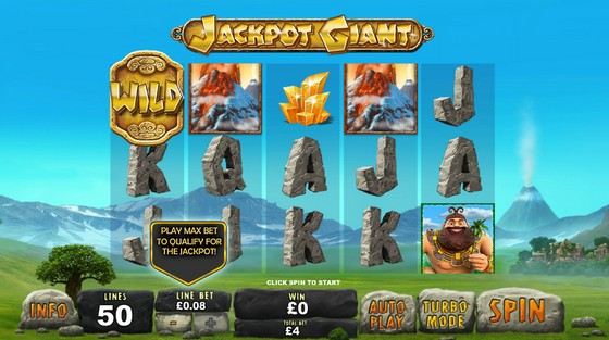 Jackpot Giant Slot from Playtech