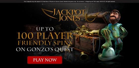Jackpot Jones Welcome Offer