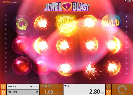 Jewel Blast Tumbling Reels