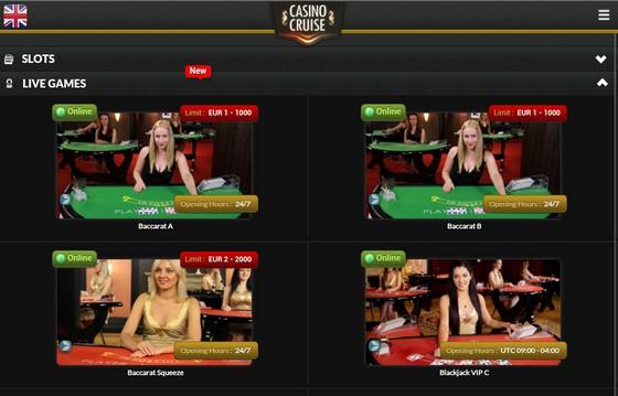 Live Baccarat Casino Cruise