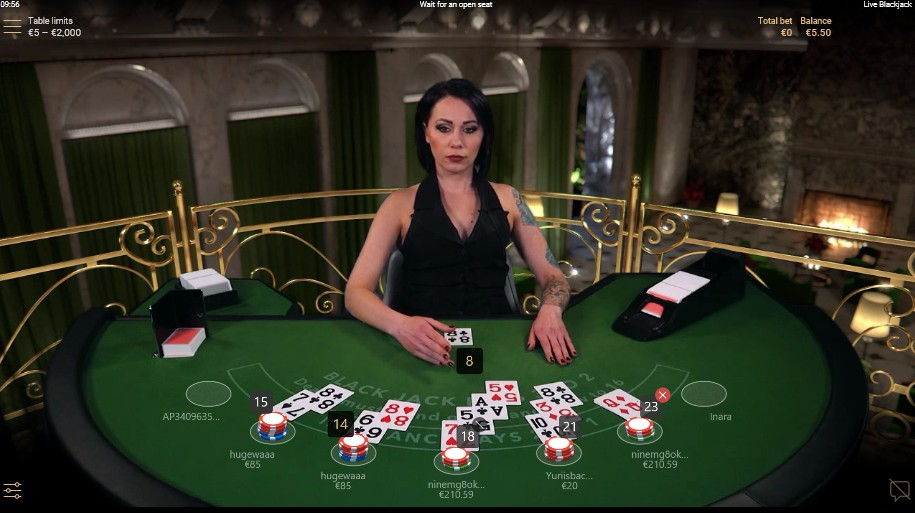 Live Blackjack/