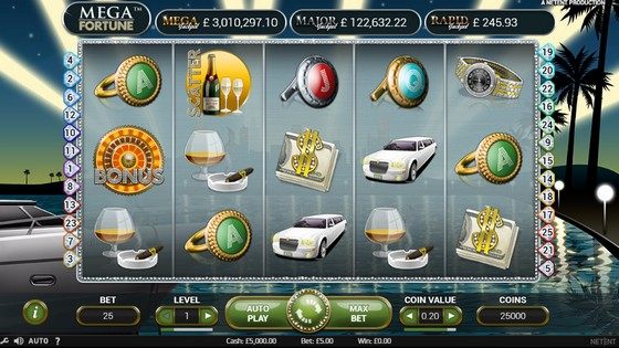 Mega Fortune – Progressive Jackpot